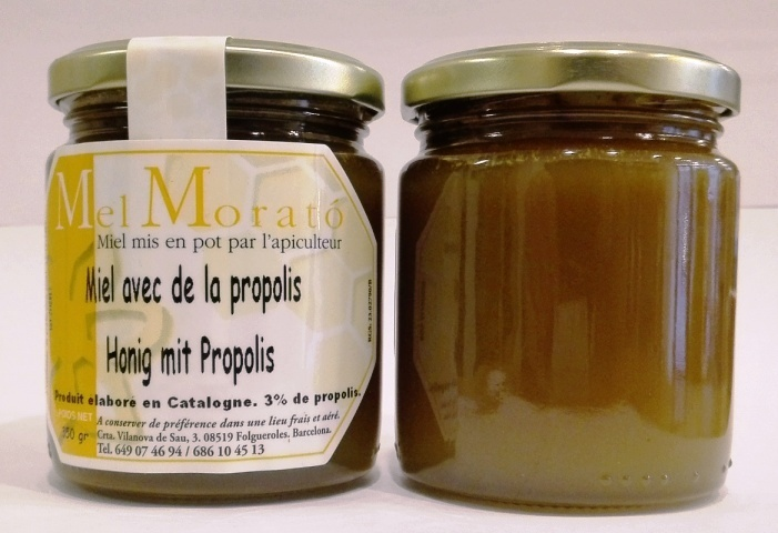 Miel la propolis 350grs la ruche catalane - La ruche a miel ...
